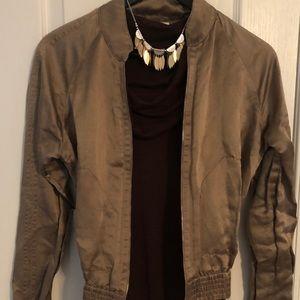 Calvin Klein Jacket (Free Matching Top & Necklace)